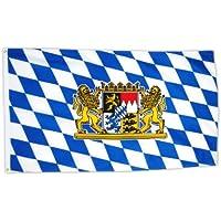 Flags4You 16158 - Bandera de Baviera (90 x 150 cm)