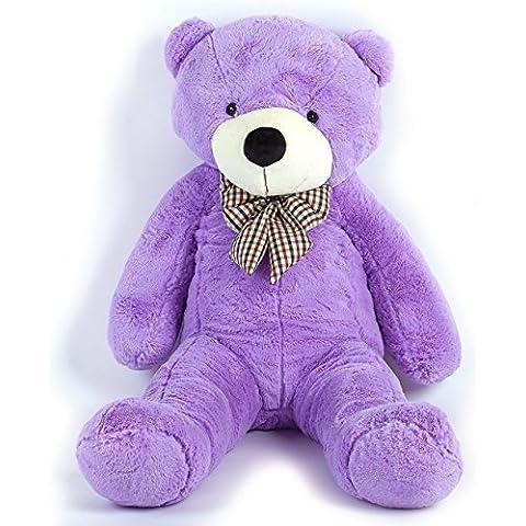 MoreGentle-120cm colchón púrpura gigante oso regalo XXL