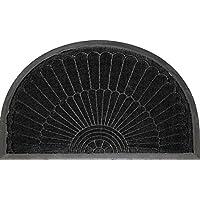 Tappeto Deco 1740080 ingresso Mats Half Moon scocca in polipropilene/Cao nero 75 x 45 cm - Trova i prezzi più bassi