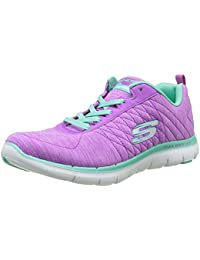 Skechers Flex Appeal 2, Baskets Basses Femme