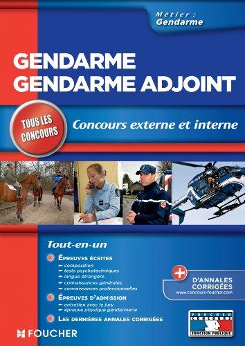 Gendarme - Gendarme Adjoint concours externe et interne