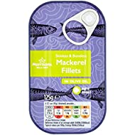 Morrisons Mackerel Fillets in Olive Oil, 125g