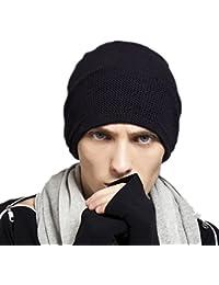 1df5d5e0b03991 Kenmont Winter Autumn Unisex Men 100% Cotton Knit Beanie Hat Slouch Cap