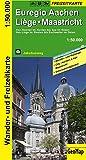 Euregio Aachen, Liege, Maastricht Wander- und Freizeitkarte: 1:50.000 (Geo Map)