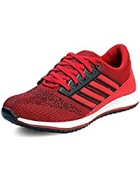 Shoe House Men's Red Sports Shoes