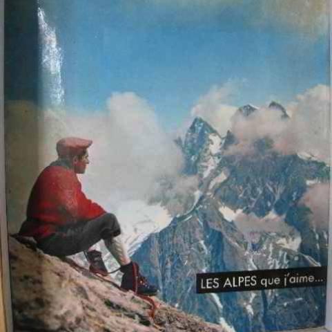 Les alpes que j'aime. par Maurice Herzog Max Aldebert Guillaume Hanoteau et Michel Serraillier