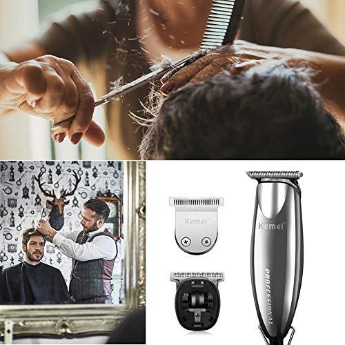 Professionelle Haarschneidemaschine & Elektrorasierer, Multifunktions-Haarschneidemaschine mit Kabel-Öl-Kopf, der Salon schnitzt