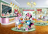 Walt Disney Poster Papier Peint - Daisy Et Minnie (255 x 180 cm)
