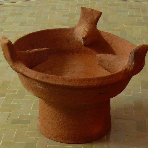 Marokkanische Tajine Stövchen Holzkohle Grill Majmar Ø 35 cm