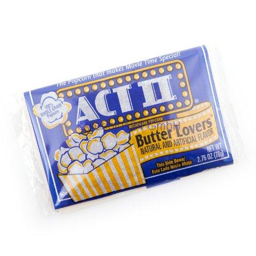 Preisvergleich Produktbild ACT II Butter Lovers Mikrowellen Popcorn
