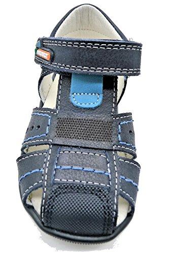 Pablosky , {Chaussures premiers pas pour bébé (garçon) bleu bleu 18 Bleu