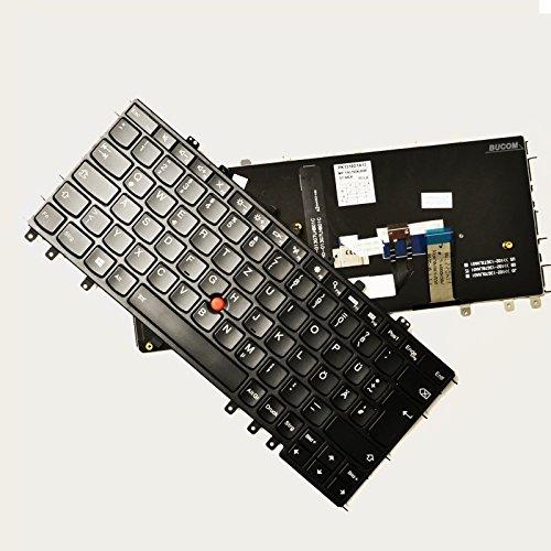 Tastatur für IBM Lenovo ThinkPad Yoga S1 S240 DE Keyboard mit Beleuchtung