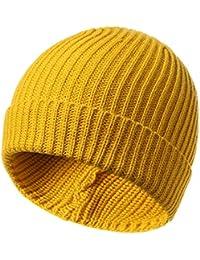 4e93a94836554 Amazon.es  gorro lana amarillo - Hombre  Ropa
