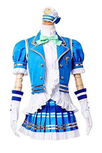 Love Live! Sunshine!! Aqours Matsuura Kanan Cosplay Kostüm Maßanfertigung (Erwachsene Kanan Kostüme)