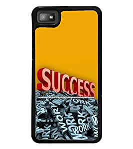printtech Cool Quotes Success Back Case Cover for BlackBerry Z10