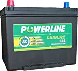 Versorgerbatterie 678 - Powerline Caravan/Leisure/Marine Batterie