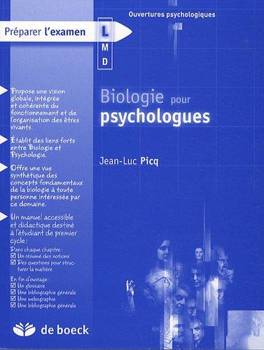 Biologie pour psychologues