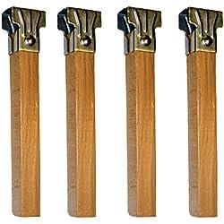 Imex El Zorro 81405 - Juego 4 patas somier de madera
