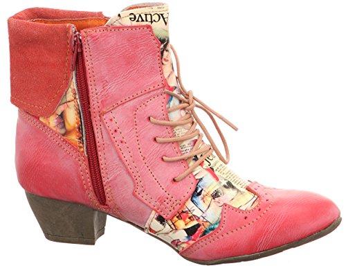 TMA, Stivali donna Multicolore multicolore 36 Rosso
