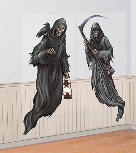 er Wanddeko Sensenmänner- Grim Reapers 2er Set ()