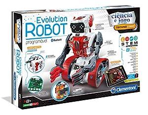 Clementoni - EVOLUTION ROBOT (67283 - Versión Portuguesa)
