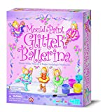 Mould and Paint your very own ballerinas, the pack comes with a single mould with six different designs of ballerinas and materials to make six magnets or badges. Mix the plaster and pour into the moulds, it may take some time to set. Once dry, use p...