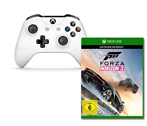 Forza Horizon 3 - Standard Edition + Xbox Wireless Controller Weiß