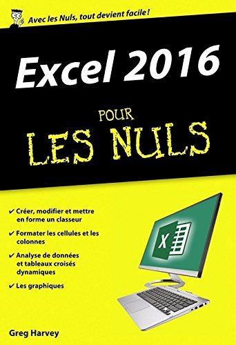 Excel 2016 pour les Nuls poche