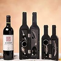 aliciashouse 5pcs vino apribottiglie a forma di