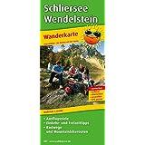 Schliersee - Wendelstein: Wanderkarte mit Ausflugszielen, Einkehr- & Freizeittipps mit Radwegen und Mountainbikerouten, wetterfest, reissfest, abwischbar, GPS-genau. 1:25000