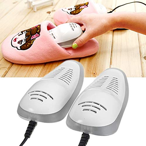 Generic Heater Electric Shoes Dryer Heating Boots Footwear Portable Uv Dehumidify Disinfectant Shoes Warmer 14W Ac220V:, Pink Color