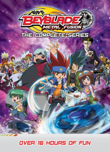 Beyblade Complete Series Metal Fusion [DVD] [UK Import] - Fusion Pal