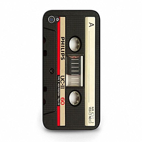 Cassette Tape Iphone 5c Case,Trendy Vintage Magnetic Tape Phone Case Cover for Iphone 5c Magnetic Tape Cool Color162d