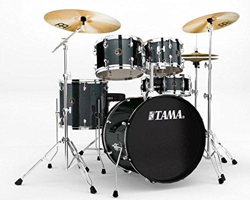 Tama RM50YH6-CCM Rhythm Mate Schlagzeug Set (5-teilig) mit 50,8 cm (20 Zoll) Bassdrum inkl. dreiteiligem Beckenset/6-teiliger Hardware charcoal mist
