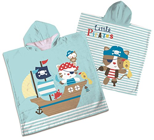 "Badeponcho / Badetuch ""KIDS DELUXE"" - Little Pirates"