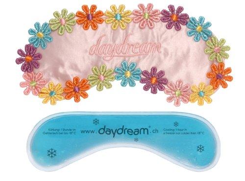 daydream A-1001 Flowers Pink Schlafmaske mit Kühlkissen