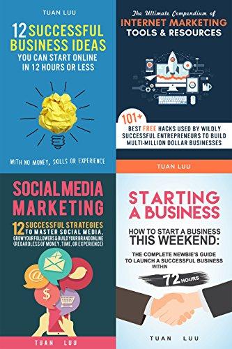 Start a Business: 4 Manuscripts - Starting a Business, Social Media Marketing, Online