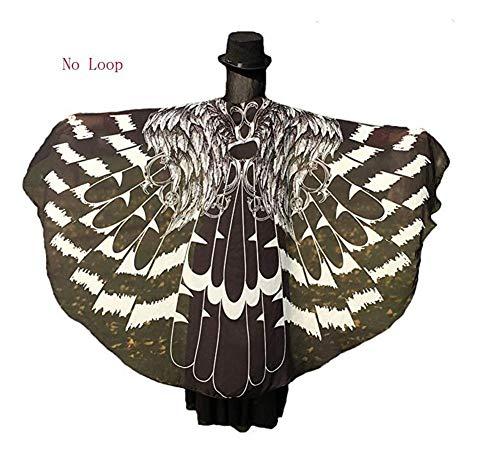 Frau Gedruckt Strandtuch Wickelrock Schmetterling Schal Dekoration, Schmetterling Mantel Europäischen Und Amerikanischen Schmetterling Mantel, Damen Herbst Und Winter Warm Gepolstert Winddicht ()