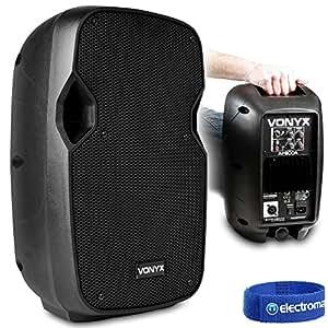 hi end active powered pa speaker small powerful 8 woofer 200 watt vonyx ap800a. Black Bedroom Furniture Sets. Home Design Ideas