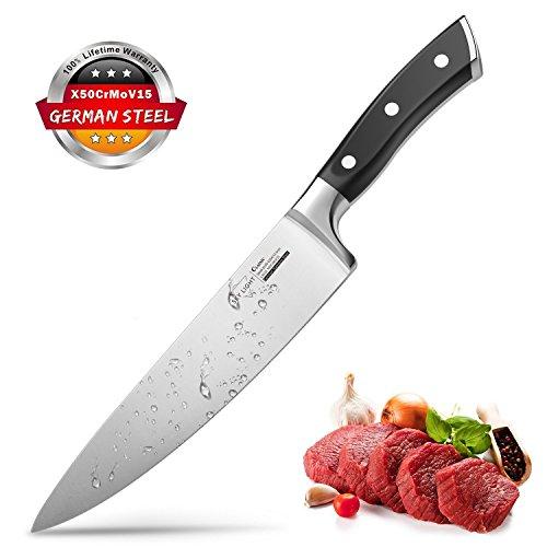 Kochmesser Küchenmesser Chefmesser 20 cm Allzweckmesser Sehr Scharfe Klinge Rostfreier Stahl Köche Messer zum Schneiden