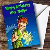 Personalised Peter Pan Birthday Card