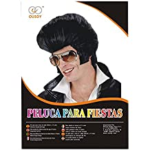 Ousdy Peluca de Elvis Presley 691739 - Negro