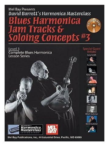 Blues Harmonica Jam Tracks & Soloing Concepts #3 (Harmonica Masterclass Lesson)