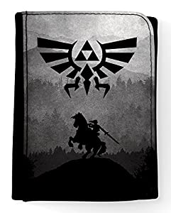 Porte feuille The Legend of Zelda Ocarina of Time Link et Epona Triforce - Kanto Factory -