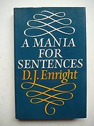 A Mania for Sentences