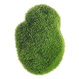 Vosarea Künstliches Moos schaukelt grünes Moos-Bälle Fuzzy Moos-Abdeckungs-Steine, die Größen ändern