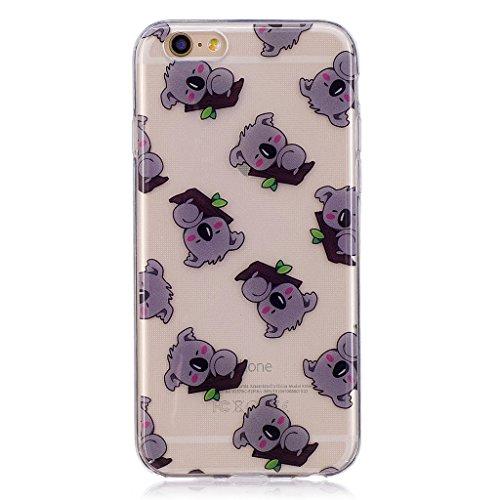 "Coque pour Apple iPhone 6S Plus / 6 Plus , IJIA Transparent Pizza TPU Doux Silicone Bumper Case Cover Shell Housse Etui pour Apple iPhone 6S Plus / 6 Plus (5.5"") WL9"