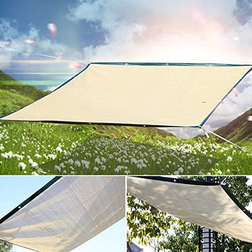 JIESD-Z Rechteckiges Sonnensegel für den Außenbereich, UV-Schutz, staubdicht, für Terrasse, Garten - 2 x 3m