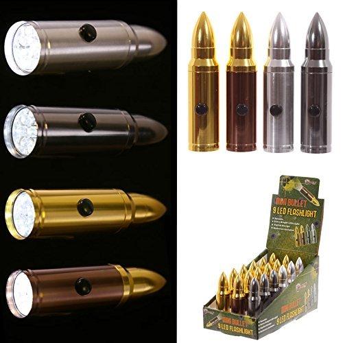9 led bullet tourch