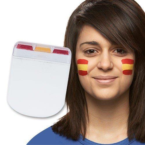 cara pintada bandera de España